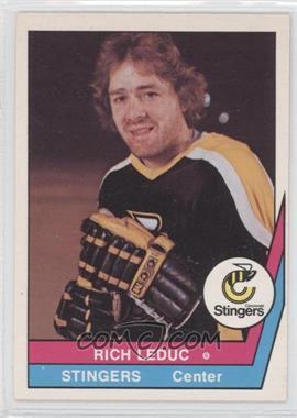 1977-78 O-Pee-Chee WHA #13 - Rich LeDuc