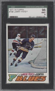 1977-78 Topps - [Base] #199 - Larry Patey [SGC96]