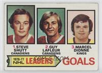 Steve Shutt, Marcel Dionne, Guy Lafleur [Good to VG‑EX]