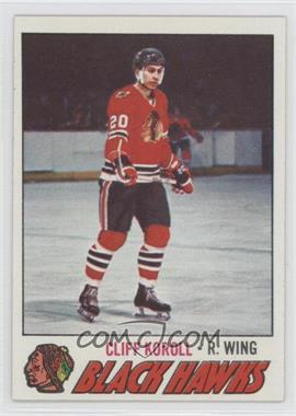 1977-78 Topps #146 - Cliff Koroll