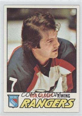 1977-78 Topps #25 - Rod Gilbert