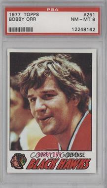 1977-78 Topps #251 - Bobby Orr [PSA8]