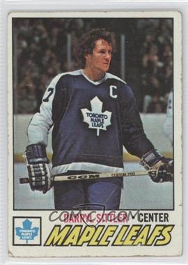 1977-78 Topps #38 - Darryl Sittler [Good to VG‑EX]