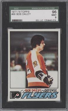 1977-78 Topps #98 - Bob Dailey [SGC96]