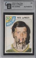 Pete LoPresti [GAICertifiedAuto]