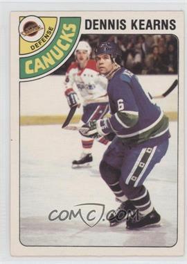 1978-79 O-Pee-Chee #191 - Dennis Kearns
