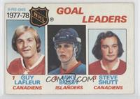 Goal Leaders (Guy Lafleur, Mike Bossy, Steve Shutt) [Poor to Fair]