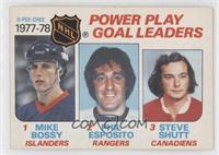 Mike Bossy, Phil Esposito, Steve Shutt