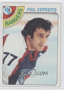 1978-79 Topps - [Base] #100 - Phil Esposito