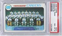 Vancouver Canucks Team [PSA8]