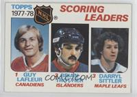 Bryan Trottier, Darryl Sittler, Guy Lafleur [Poor to Fair]