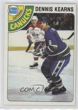 1978-79 Topps #191 - Dennis Kearns