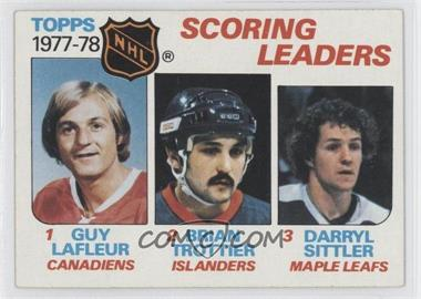 1978-79 Topps #65 - Bryan Trottier, Darryl Sittler, Guy Lafleur