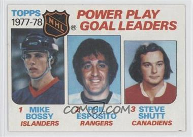 1978-79 Topps #67 - Mike Bossy, Phil Esposito
