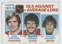 Ken Dryden, Bernie Parent, Gilles Gilbert [Good to VG‑EX]