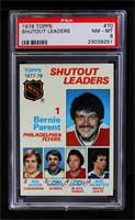 Bernie Parent, Ken Dryden, Don Edwards, Tony Esposito [PSA 8]