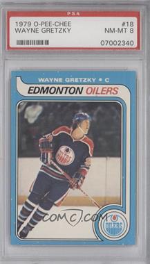 1979-80 O-Pee-Chee #18 - Wayne Gretzky [PSA8]