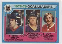 Goal Leaders (Mike Bossy, Marcel Dionne, Guy Lafleur)