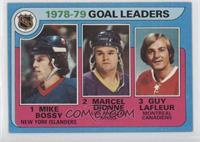 Goal Leaders (Mike Bossy, Marcel Dionne, Guy Lafleur) [GoodtoVG&#82…