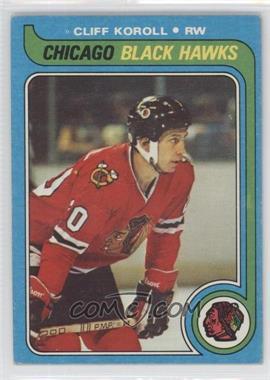 1979-80 Topps #102 - Cliff Koroll