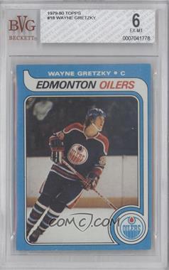 1979-80 Topps #18 - Wayne Gretzky [BVG6]