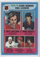 1978-79 Game Winning Goal Leaders (Guy Lafleur, Mike Bossy, Brian Trottier, Jea…