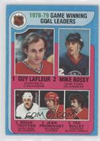 1978-79 Game Winning Goal Leaders (Guy Lafleur, Mike Bossy, Brian Trottier, Jea…