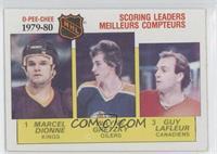 NHL Scoring Leaders (Marcel Dionne, Wayne Gretzky, Guy Lafleur)