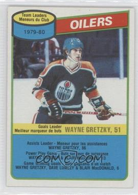 1980-81 O-Pee-Chee - [Base] #182 - Wayne Gretzky