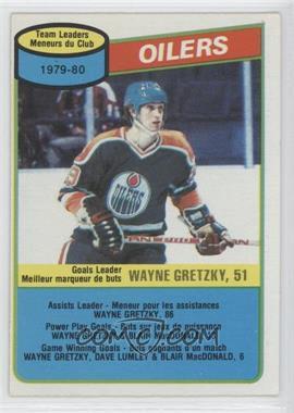 1980-81 O-Pee-Chee #182 - Wayne Gretzky