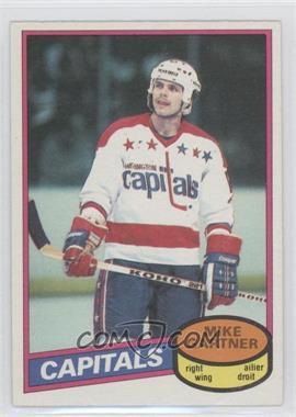 1980-81 O-Pee-Chee #195 - Mike Gartner