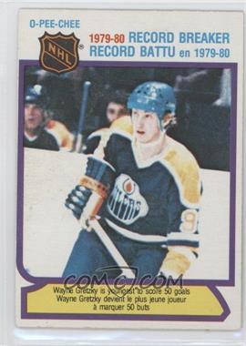 1980-81 O-Pee-Chee #3 - Wayne Gretzky