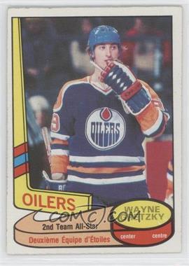 1980-81 O-Pee-Chee #87 - Wayne Gretzky