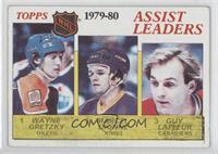 NHL Assist Leaders (Wayne Gretzky, Marcel Dionne, Guy Lafleur) [Goodto&nb…