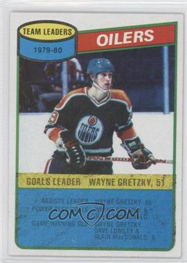 1980-81 Topps Scratched #182 - Wayne Gretzky