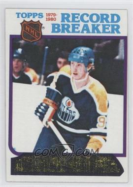 1980-81 Topps #3 - Wayne Gretzky