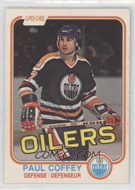 1981-82 O-Pee-Chee - [Base] #111 - Paul Coffey