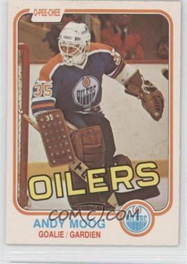 1981-82 O-Pee-Chee - [Base] #120 - Andy Moog