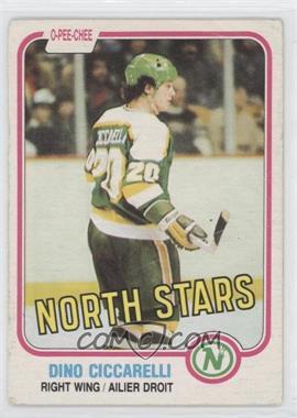 1981-82 O-Pee-Chee - [Base] #161 - Dino Ciccarelli
