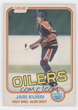 1981-82 O-Pee-Chee #107 - Jari Kurri