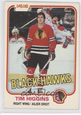 1981-82 O-Pee-Chee #57 - Tim Higgins