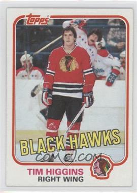 1981-82 Topps - [Base] #69W - Tim Higgins