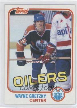 1981-82 Topps #16 - Wayne Gretzky