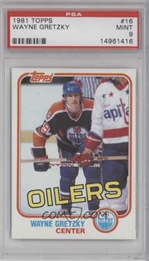 1981-82 Topps #16 - Wayne Gretzky [PSA9]