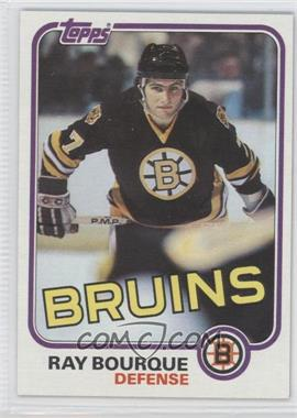 1981-82 Topps #5 - Ray Bourque