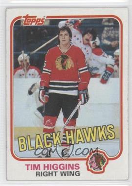 1981-82 Topps #69W - Tim Higgins