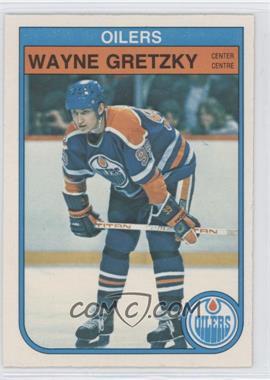 1982-83 O-Pee-Chee - [Base] #106 - Wayne Gretzky