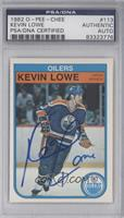 Kevin Lowe [PSA/DNA Certified Auto]