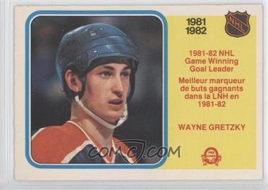 1982-83 O-Pee-Chee #242 - Wayne Gretzky