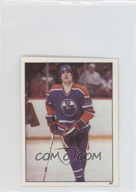 1982-83 Topps Album Stickers #94 - Mark Messier
